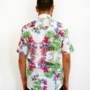 Men shirt with tropical flowers