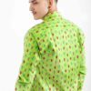 Men shirt with holiday lights