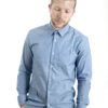 Dark blue men shirt