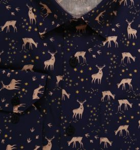 Men shirt with deers